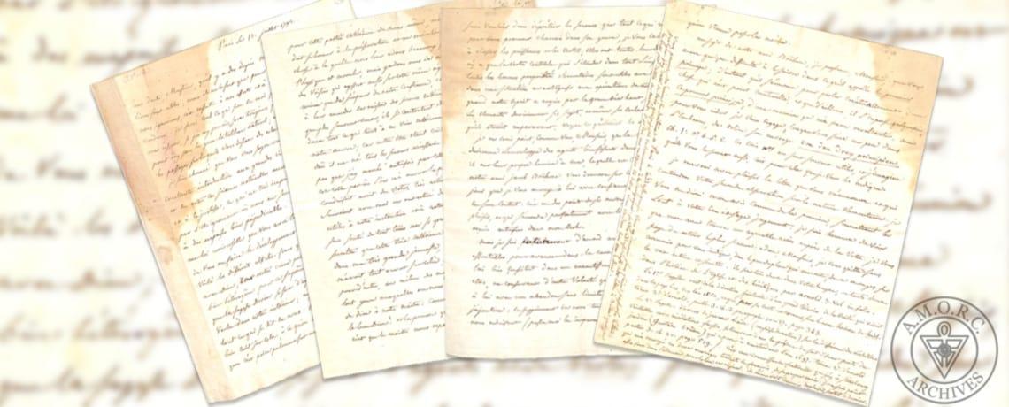 Lettre de Saint-Martin à Kirchberger
